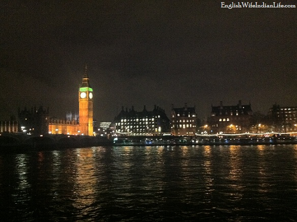 Big Ben on the Thames