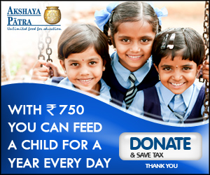 The Akshaya Patra Foundation enables hunger free education for nearly 1.3 million Children in India every day.