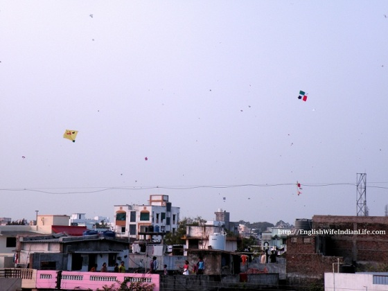 kites fill up the sky