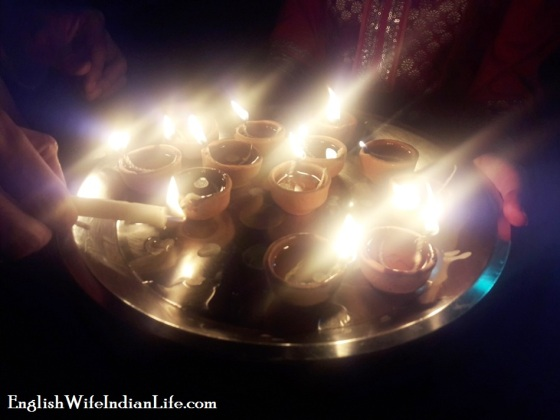 Diyas Candle Lit Diwali